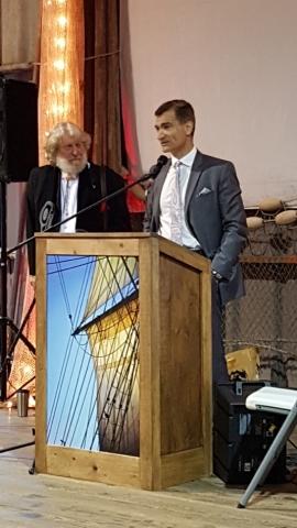 MP Joe Peschisolido with Chair Loren Slye