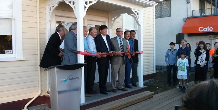 Official opening of the Japanese Fishermen's Society Building