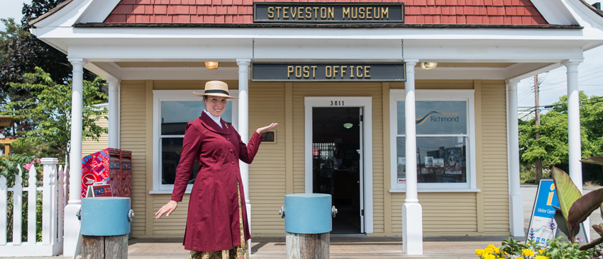 Steveston Stories Tours at Steveston Museum