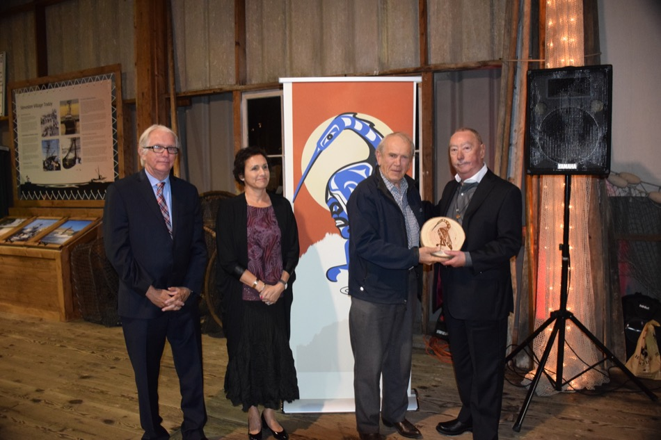 Heritage Recognition Award presented to Steveston Community Society