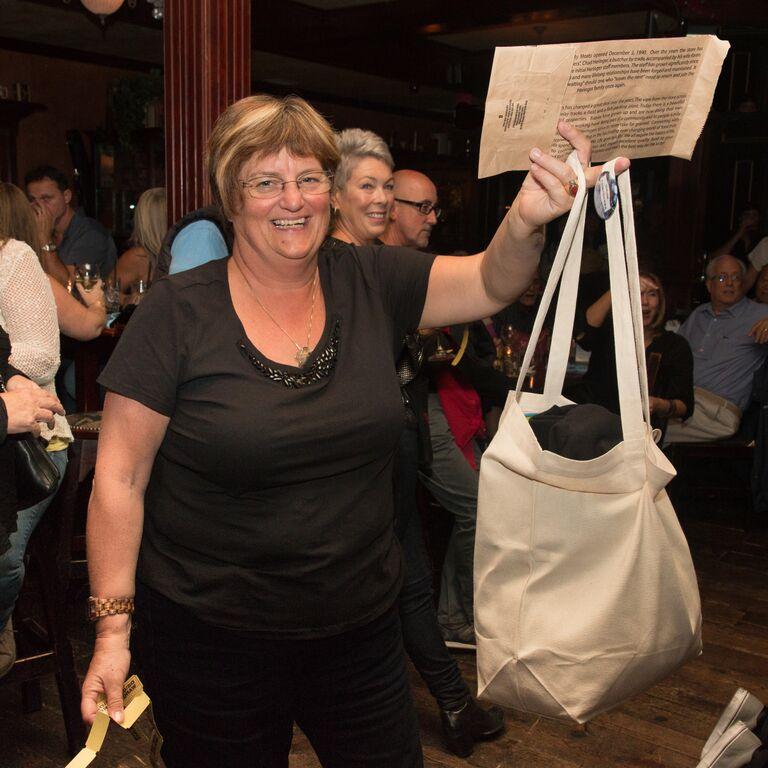 Guest at the SHS Pub Fundraiser