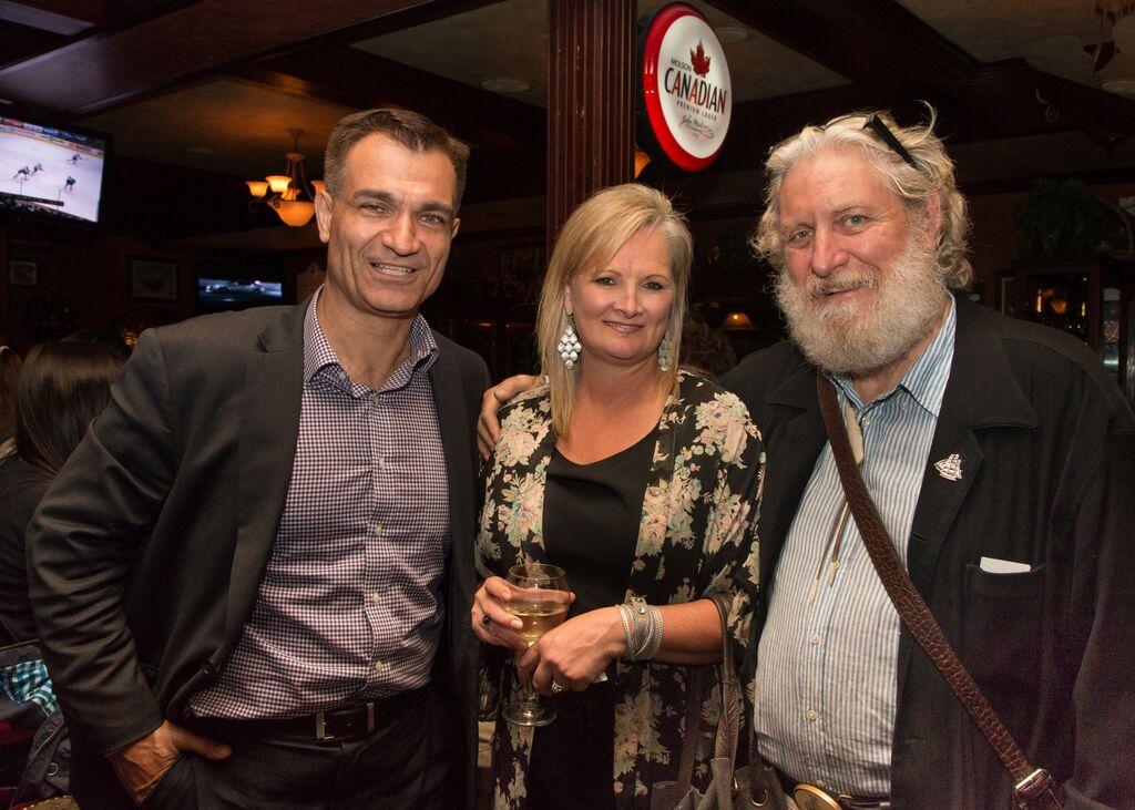 MP Joe Peschisolido with SHS Directors Johanna Stewart and Loren Slye