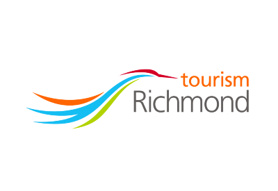 Tourism Richmond heron logo
